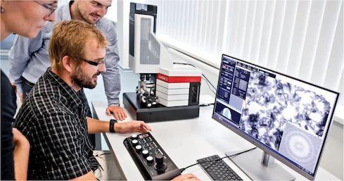 卓上型 透過型電子顕微鏡LVEM5