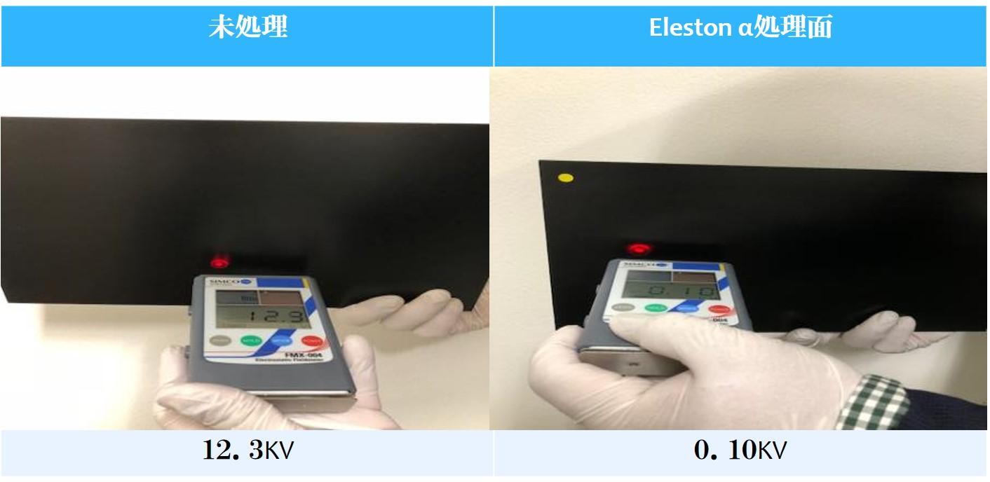Eleston帯電量PVC