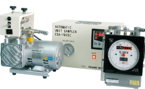 オートマチックユニットサンプラー ガスメーター分離型 ESA-703SC