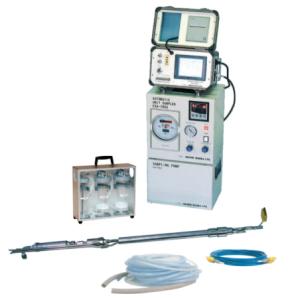 排ガス中のばいじん・ダスト濃度測定用自動試料採取装置