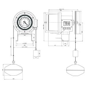 DLG-B型 取付イメージ