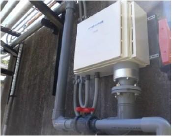 紫外線水処理装置設置画像